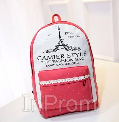 Рюкзак Camier Style Red, фото 2