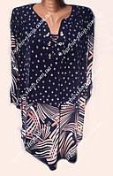 Оригинальная женская туника супер-большого размера 0250