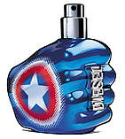 Diesel Only The Brave Captain America туалетная вода 75 ml. (Дизель Онли Зе Брейв Капитан Америка), фото 3