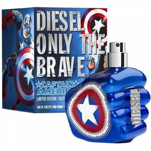 Diesel Only The Brave Captain America туалетная вода 75 ml. (Дизель Онли Зе Брейв Капитан Америка)