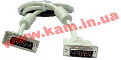 Кабель GMB DVI Dual Link 24/ 24 3m P/ N:CC-DVI2-10 (3m): Кабель для соединения ист (CC-DVI2-10 (3m)) - EXE.ua by kam.in.ua, Интернет-магазин в Киеве