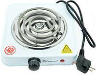 Электрическая плита Domotec MS-5801 1000Вт. Высокое качество. Портативная плита. Купить онлайн. Код: КДН1760