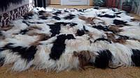 Комплект покрывало и четыре подушки из шкурок исландской овчины