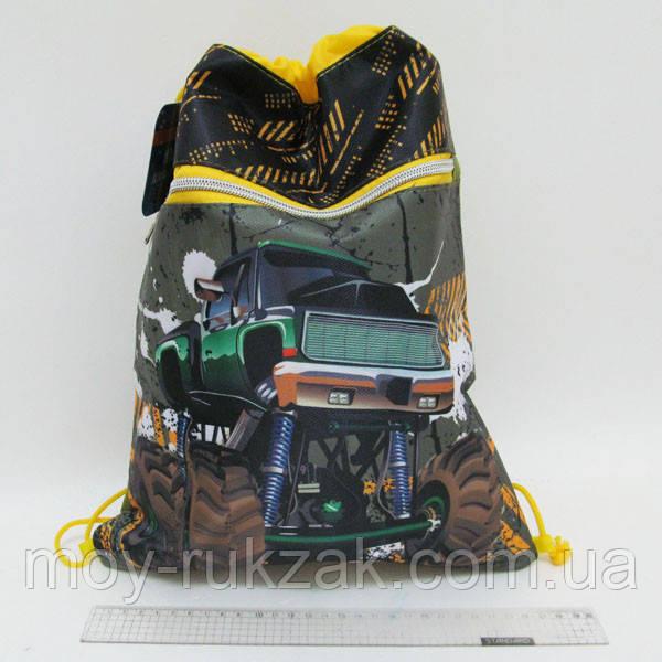"""Сумка для обуви с карманом Josef Otten """"Машины Монстры"""" JO-17211, арт. 523151"""