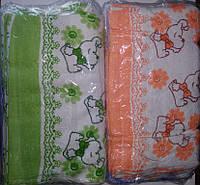 Полотенца махровые кухонные 35х70 натуральный хлопок, фото 1
