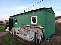 Летний домик, б/у, размеры: 3000х6000х2950