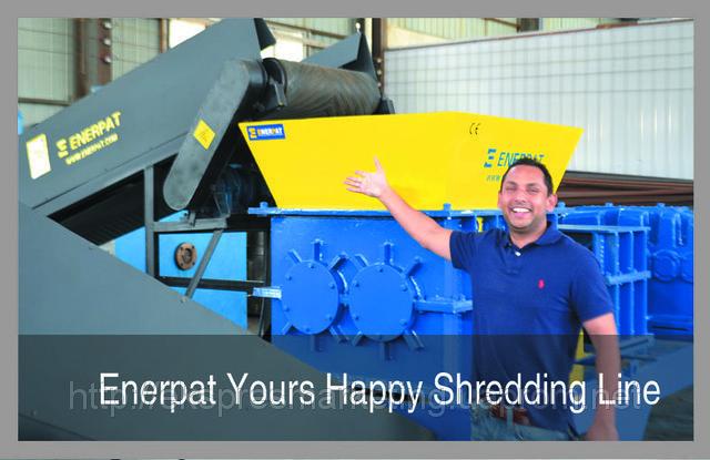 Дробилка, шредер ENERPAT MSB-75 - Оборудование для промышленности и переработки металлолома в Киеве