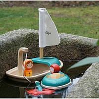 """Деревянная игрушка """"Лодка"""", PlanToys"""