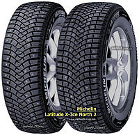 Шина зимняя внедорожная Michelin Latitude X-Ice North 2+ 255/55 R20 110T XL (шип)