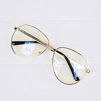 Очки женские Gucci золотые имидж, магазин очков