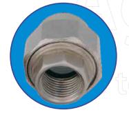 Резьбовое соединение внутреннее (американка) 1 ASG-plast d32 мм