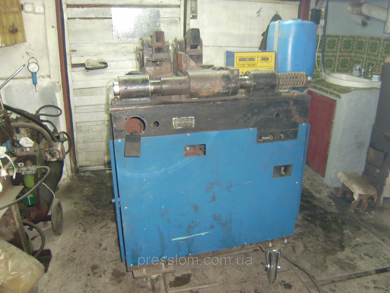 Аппарат контактно-стыковой сварки МСО-201 - Оборудование для промышленности и переработки металлолома в Киеве