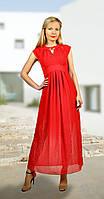 Платье МиА Мода-783-4 белорусский трикотаж, красный, 44