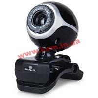 Web камера Real-El FC-100 Black (FC-100 black)