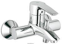 Смеситель однорычажный для ванны с коротким изливом Grohe коллекция Eurostyle хром 33591001