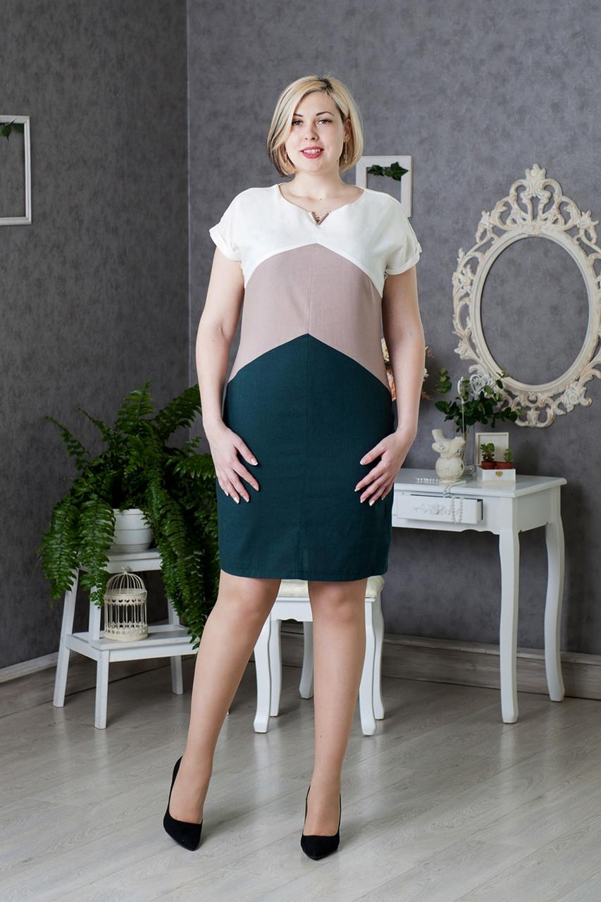 Платья из натуральных тканей размер 50
