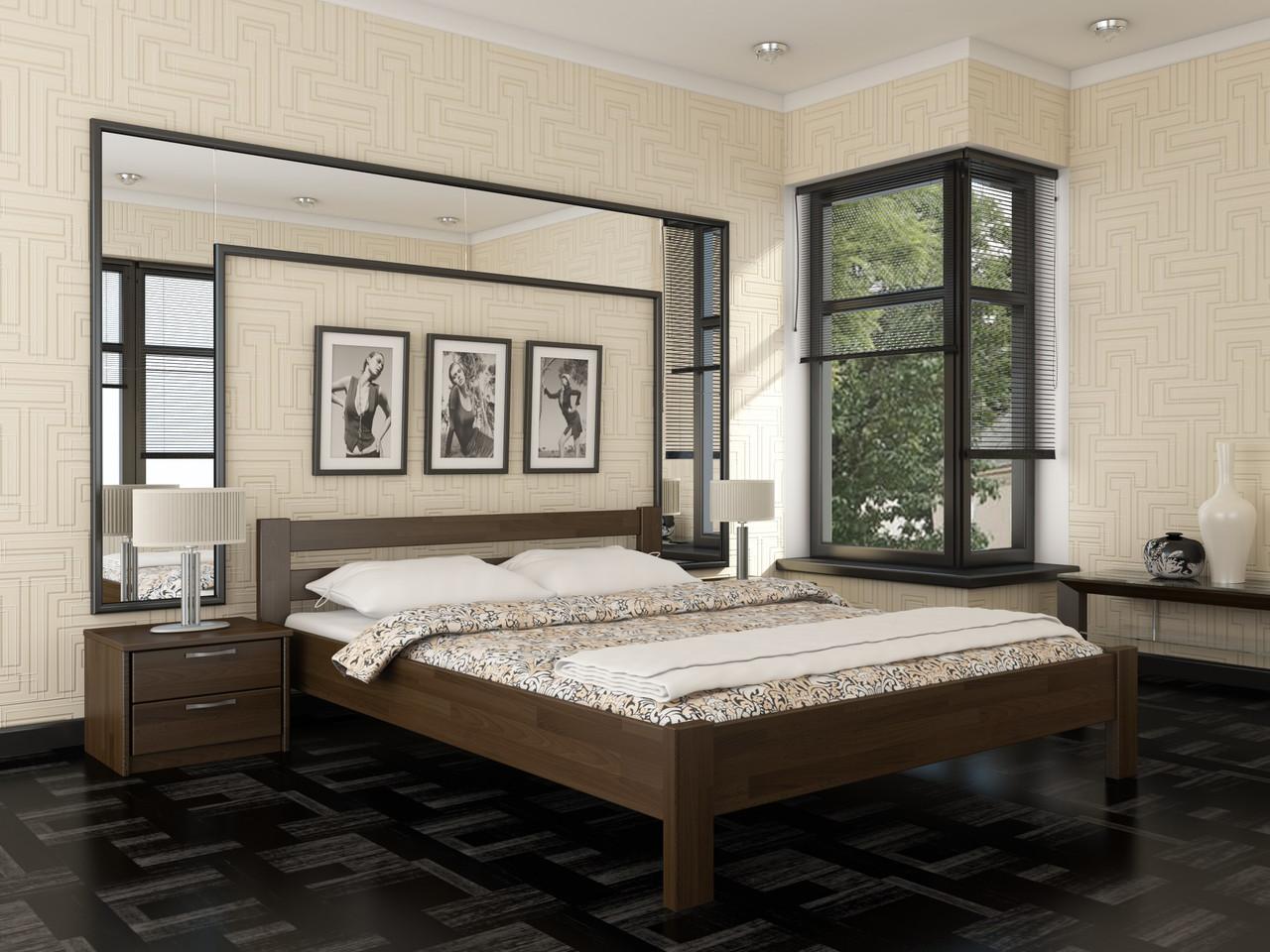 Кровать Рената (ассортимент цветов) (с доставкой)