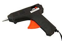 Пистолет клеевой силиконовый, Тонкий стержень (7мм)