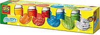 Гуашь - СВЕРКАНИЕ (6 цветов, в пластиковых баночках) (00333S)
