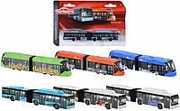 Металлическая машинка Городской транспорт Majorette 20 см, 6 видов (205 3303)