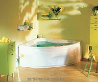 Ванна акриловая угловая PoolSpa коллекция Klio Sym 133х133х63 PWS35..ZN000000 + ножки