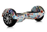 """Гироскутер Smart Balance Wheel Simple 8"""" Граффити +Сумка +Спиннер в Подарок! (Гарантия 12 Месяцев)"""
