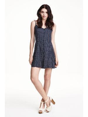 Платье на бретельках и с пуговичками H&M
