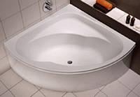 KOLO INSPIRATION Акриловая угловая ванна 140*140см с ножками XWN3040000