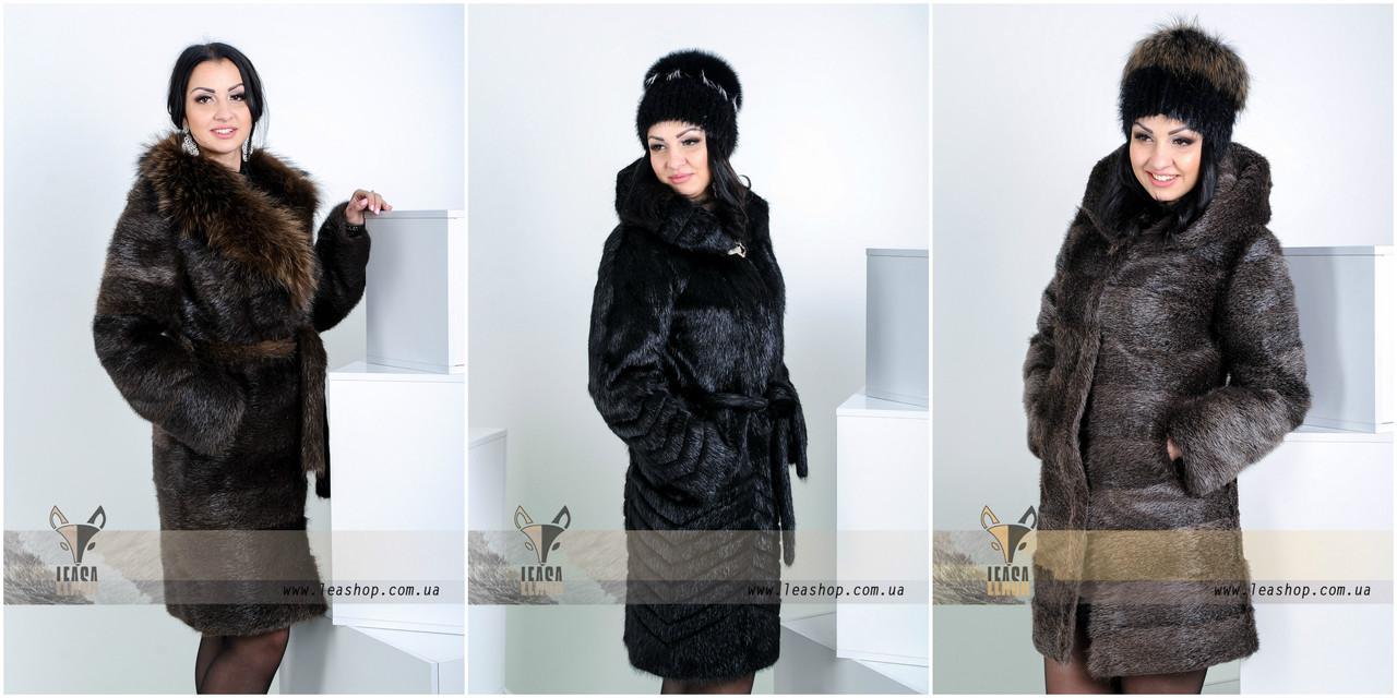 Женская зимняя меховая одежда фото