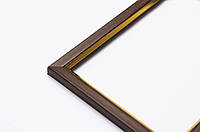 Фоторамка 10х15 багет 15 мм коричневая