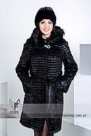 Купить зимнюю верхнюю меховую одежду женскую