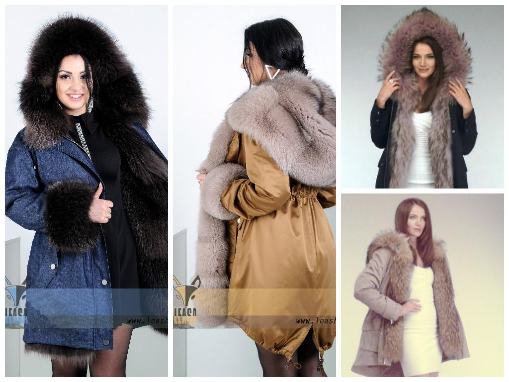 6754cac687703 Модная зимняя верхняя женская одежда - Женские шубы и меховые жилетки от Украинского  производителя   LEAshop