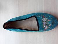 Тапочки женские для дома с задником 37 размер