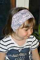 Хлопковая повязка для девочки