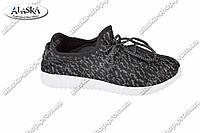Женские кроссовки черные (Код: 195)
