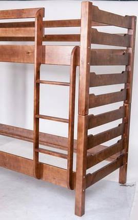 Двох'ярусне ліжко Троя темний горіх (Мікс-Меблі ТМ), фото 2