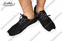 Мужские кроссовки черные (Код: ZT-65)