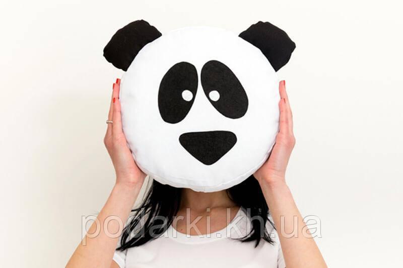 Подушка emoji Панда