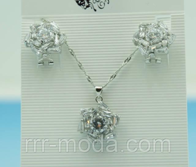 комплекты украшений с кристаллами сваровски оптом