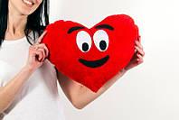 Подушка emoji Забавное сердце