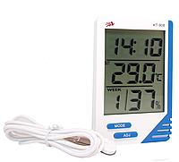 Термометр цифровой с гигрометром KT-908