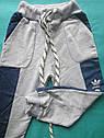 Детские спортивные штаны на мальчика Адидас размер 26, фото 2