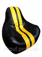 "Кресло-мешок ""Ferrari Sport"" (материал эко-кожа Зевс), размер 90*80 см"