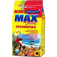 Корм для средних попугаев KIKI MAX MENU 1 кг