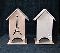 Чайний будиночок 24*13*12 см Чайный домик из дерева