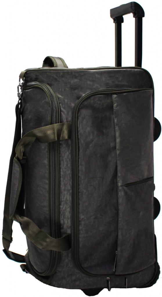 Колесная сумка среднего размера 60 л Bagland Таллин 37070-5 хаки