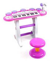 Детское пианино с микрофоном BB45D