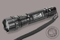 Фонарик подствольный  тактический UltraFire WF-501B T6. Для охоты, рыбалки, страйкболла.