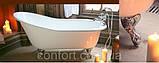 Класична чавунна ванна на ніжках в ретро стилі BORDEAUX, фото 2