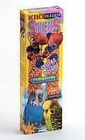 Колосок для волнистых попугайчиков KIKI STICKS с лесными фруктами